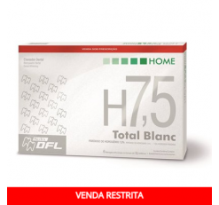 Kit Clareador Total Blanc Home H7.5%