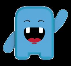 Estojo Dental Álbum - Cor: Azul