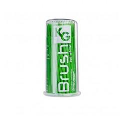 Pincel Aplicador Kg Brush Extra Fino - Verde