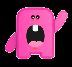 Estojo Dental Álbum - Cor: Rosa